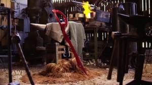 凄い!キルラキルの「片裁ちバサミ」を鍛冶屋が作るとこうなる!
