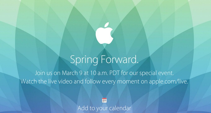 Apple special event 1
