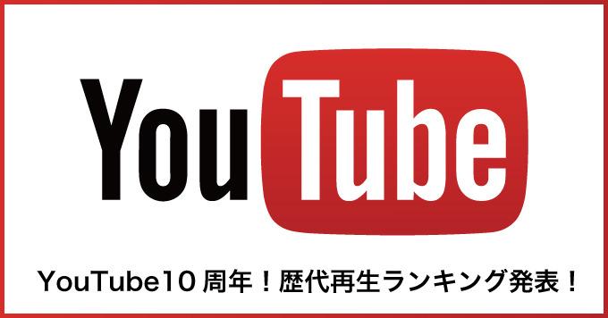 Youtube 10years ranking