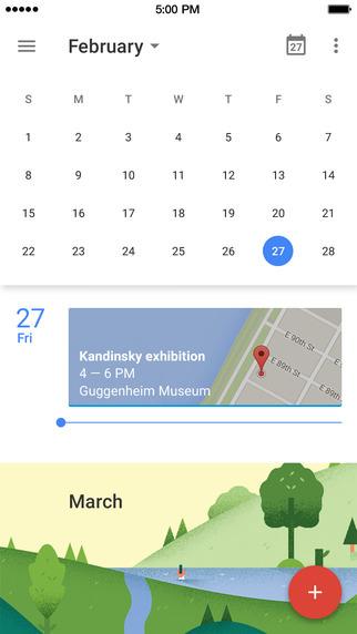 Iphoneapp google calendar 2