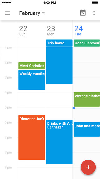 Iphoneapp google calendar 4