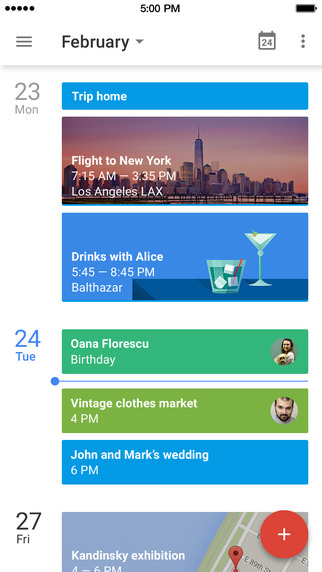 Iphoneapp google calendar 6