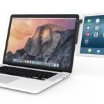 これ良い!iPadやiPhoneをMacのサブディスプレイとしてマウントさせるアダプタ「Mountie」