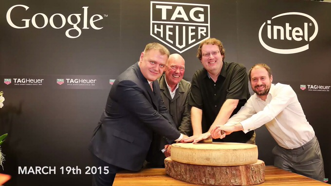 Tagheuer google intel smart watch
