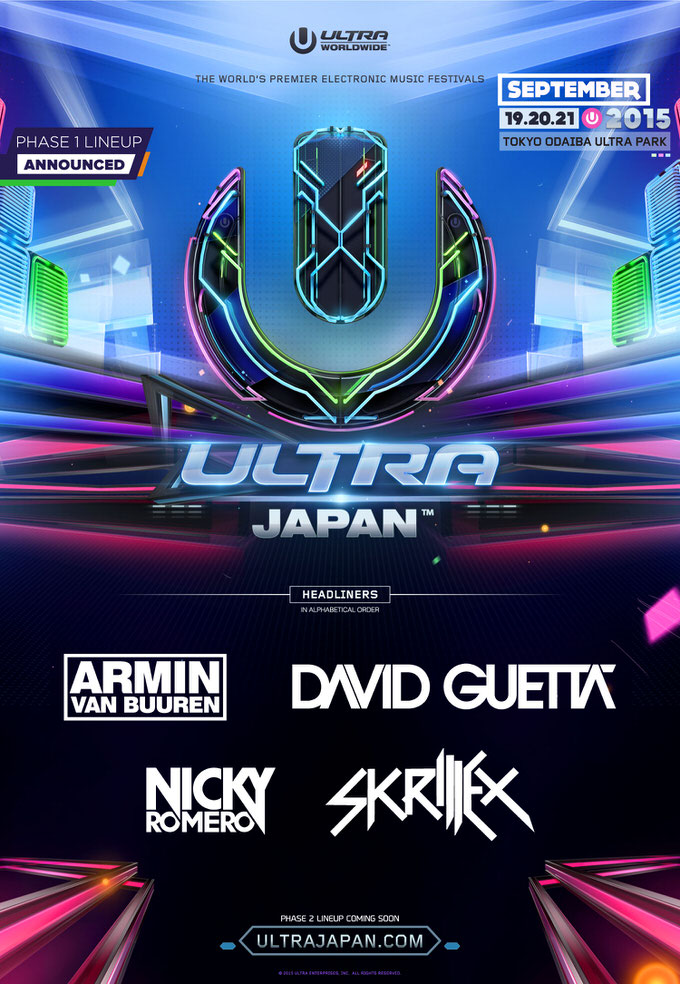 Ultra japan headliners