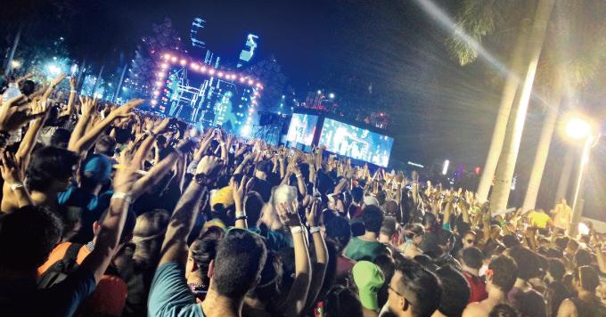 Ultra music festival live