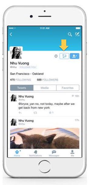 チェックを入れると、ウェブ版Twitterと公式アプリのプロフィール画面に「DMボタン」が表示され、このボタンから誰でもDM を送信することが可能になります。