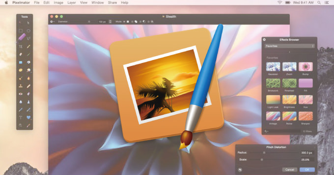 【50%オフ】Macの写真アプリの機能拡張もできる人気の写真編集アプリ「Pixelmator」が半額!
