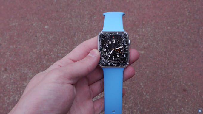 Apple watch sport drop test 1
