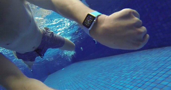 Apple watch waterproof test