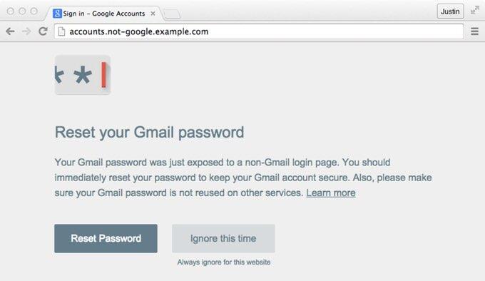 Google password alert 1