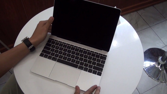 New macbook unbox