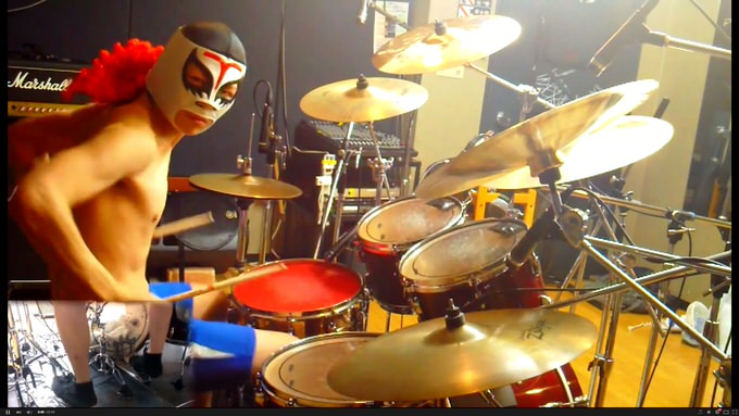 超胸熱なドラム演奏!ダイナ四の「ファイナルファンタジーメドレー」がヤバい!
