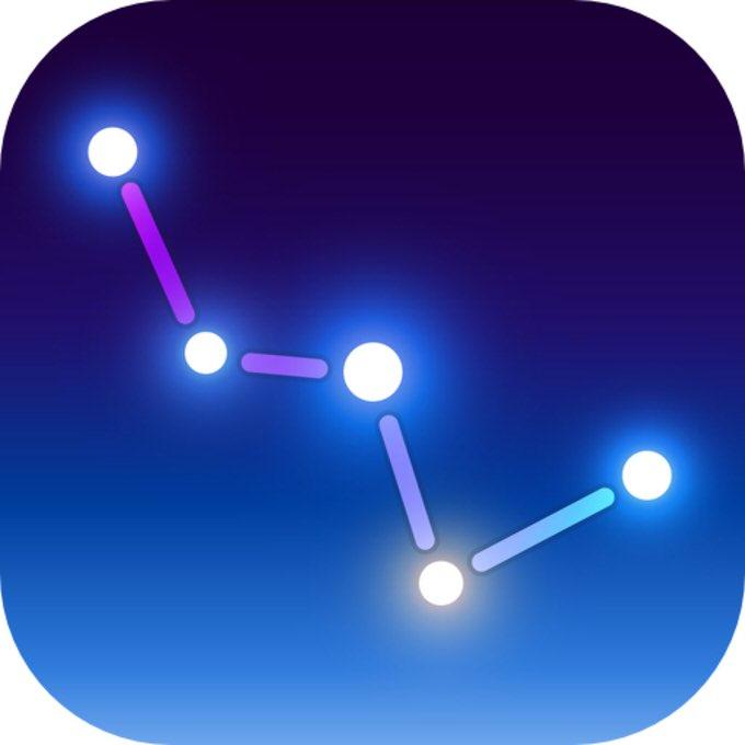 250円→無料! 空にかざすだけで星座などを見つけることができるアプリ「スカイ・ガイド – 星図」