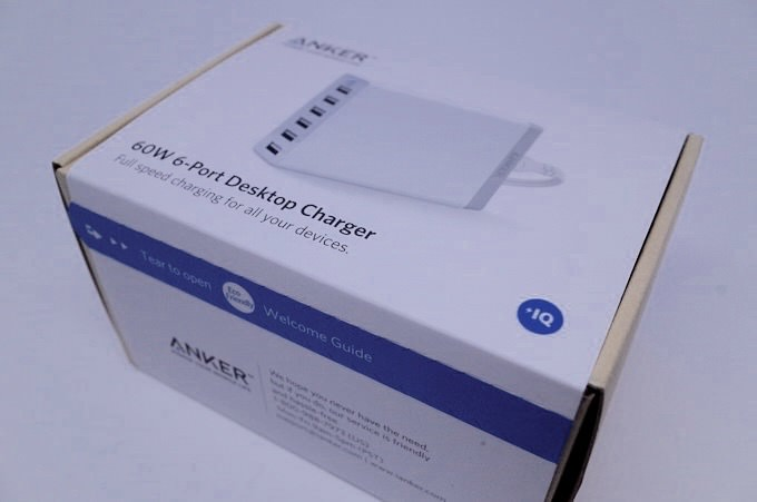 Anker 60w 6port usb charger 1