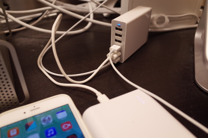 Anker 60w 6port usb charger 4
