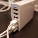 【レビュー】買って大正解!人気のUSB急速充電器「Anker 60W 6ポート USB急速充電器」