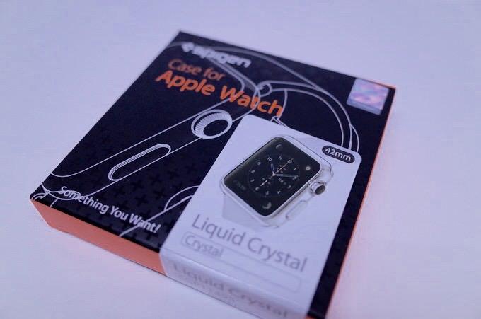 Apple watch case liquid crystal 1
