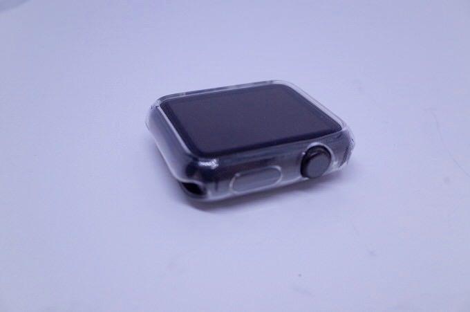 Apple watch case liquid crystal 3