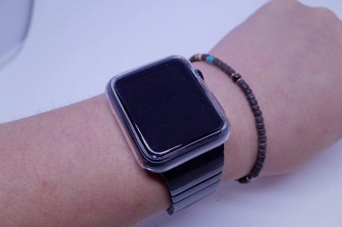 Apple watch case liquid crystal 7