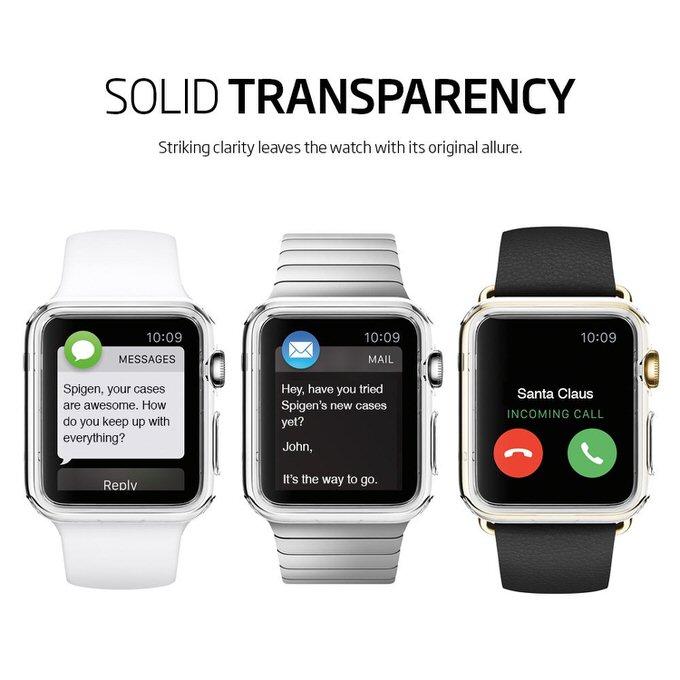 Apple watch case spigen liquid crystal 8
