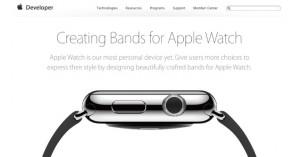 Apple Watch、今後は多くのメーカーから専用バンドが発売に!ガイドラインを公開