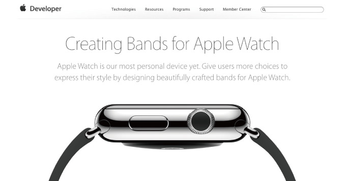 Apple watch creating bands for apple watch
