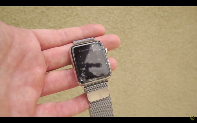 Apple watch drop test