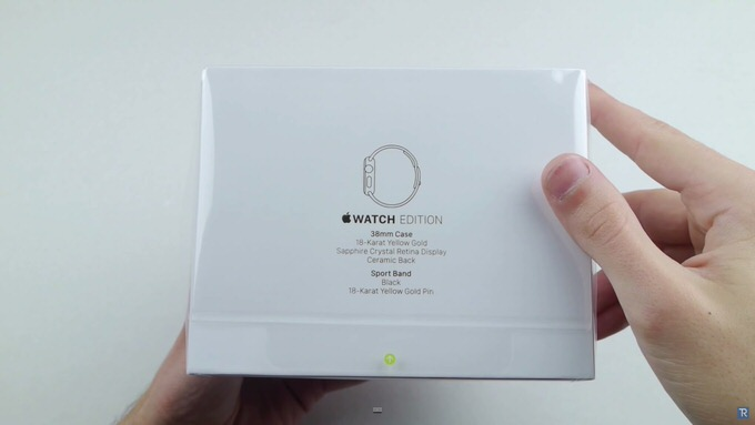 Apple watch edition unbox 1