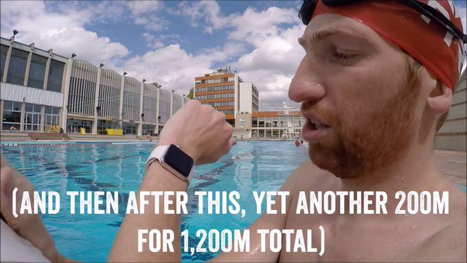 Apple Watch 「耐水」ではなく「防水」と呼べる性能を証明した動画