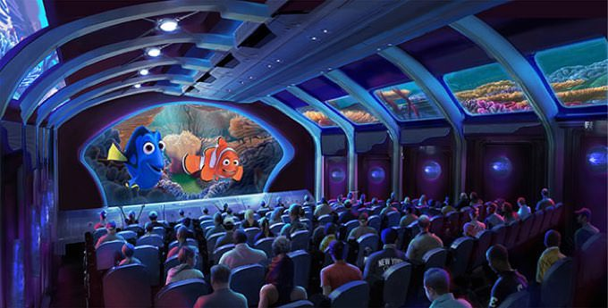 Disney new attraction fainding nimo 1
