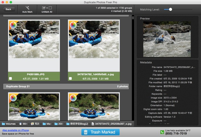 Macapp duplicate photo fixer pro 2