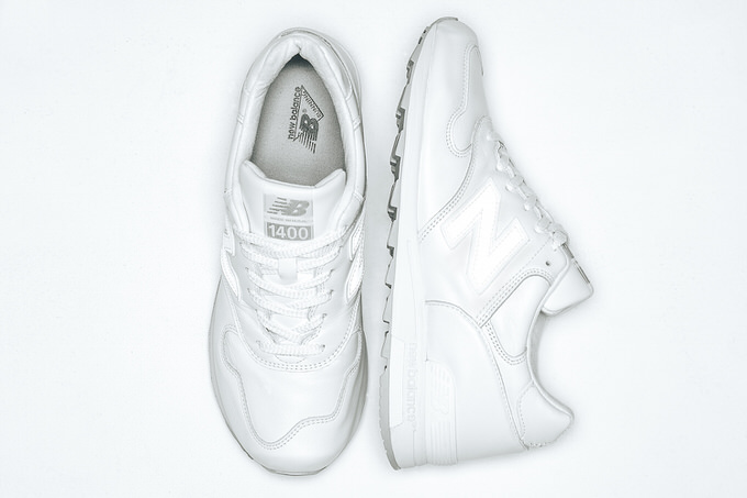 New balance all white 2