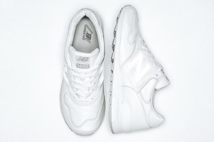 New balance all white 2