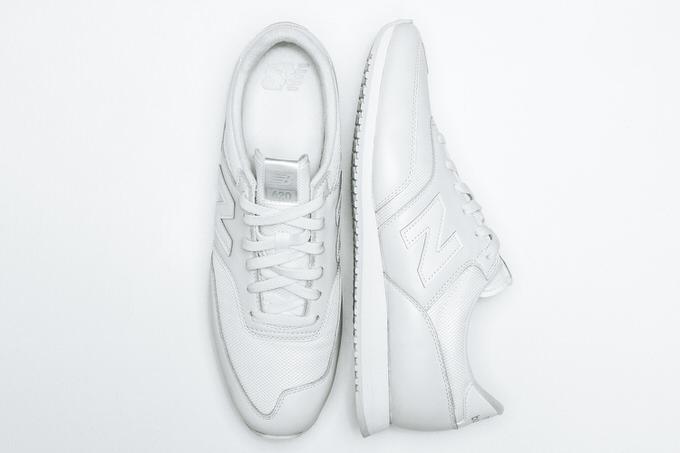 New balance all white 3