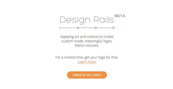 【無料】イメージを入力するとロゴを自動作成してくれる「Design Rails」
