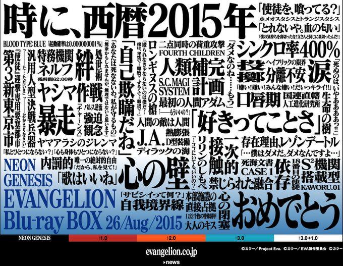 2015年6月22日は使徒襲来、碇シンジが初めてエヴァンゲリオンに搭乗した日