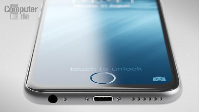 iPhoneからホームボタンが消える?Appleがホームボタン内蔵したディスプレイを開発中?