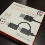 1本でLightningとマイクロUSBを使うことができるSpige「USB Charge / Sync Cable」