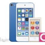 新型iPodシリーズが発売開始!iPod touchはiPhone 5sよりも高性能に!
