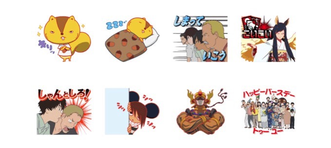 Line stamp summerwars 3