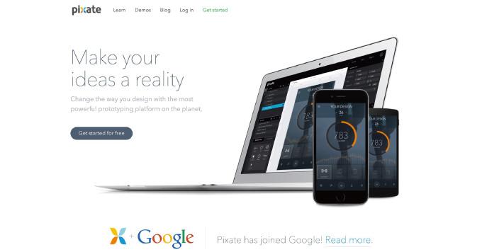 Google モバイルプロトタイピングツール「Pixate」を買収、無料で利用可能に