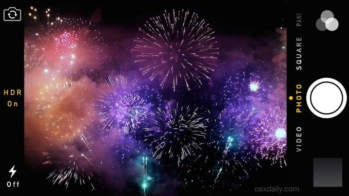 iPhoneの標準カメラで花火を綺麗に撮影する方法【保存版】
