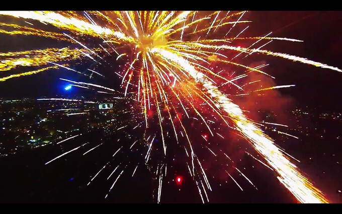 Youtube fireworks filmed with drone 1