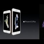 「iPhone 6s/6s Plus」正式発表!9月12日予約開始、25日発売
