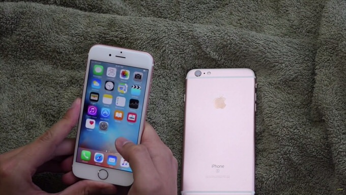 Iphone 6s water test 2