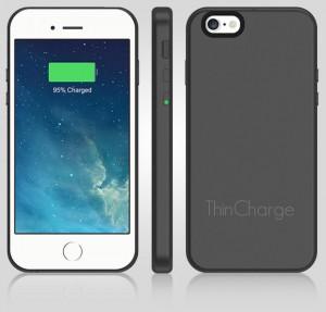 モバイルバッテリーにさようなら!超薄型のバッテリー内蔵iPhone 6/6s対応ケース「ThinCharge」