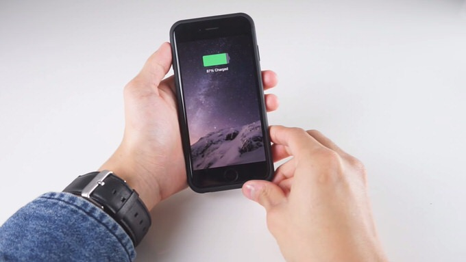 Iphone accessory thincharge 3