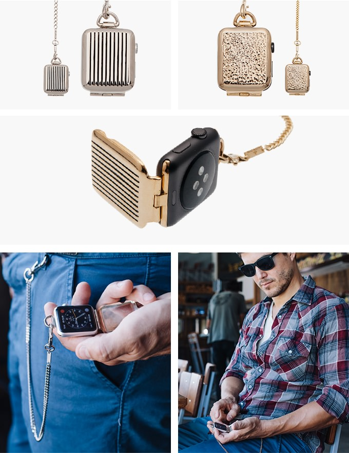 Pocket watch pendant accessories apple watch 2