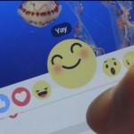 Facebook「いいね!」より表現が増えた新しいリアクションボタンのテストを開始